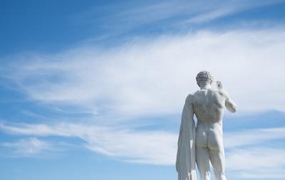 Statue In The Sky