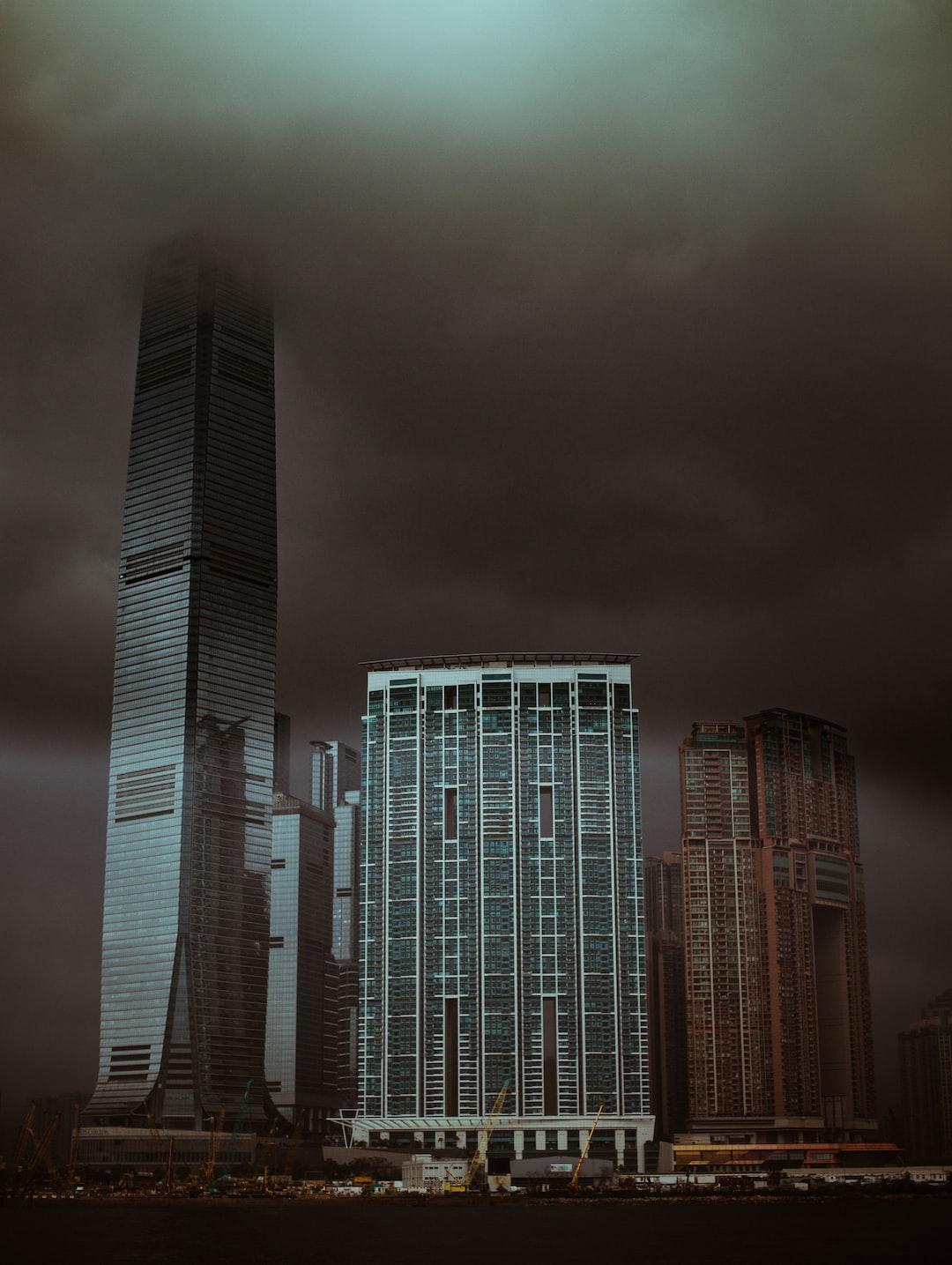 Moody Hong Kong waterfront