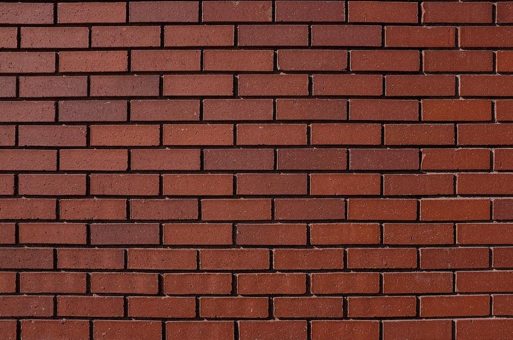 red bricks wall