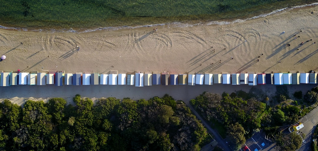 We were at Brighton Beach located in Melbourne, Australia. The thrill of being able to fly the drone up into foreign airspace besides home was just pure adrenaline that rushed through my veins. This is in memory of being able to fly overseas for the first time.