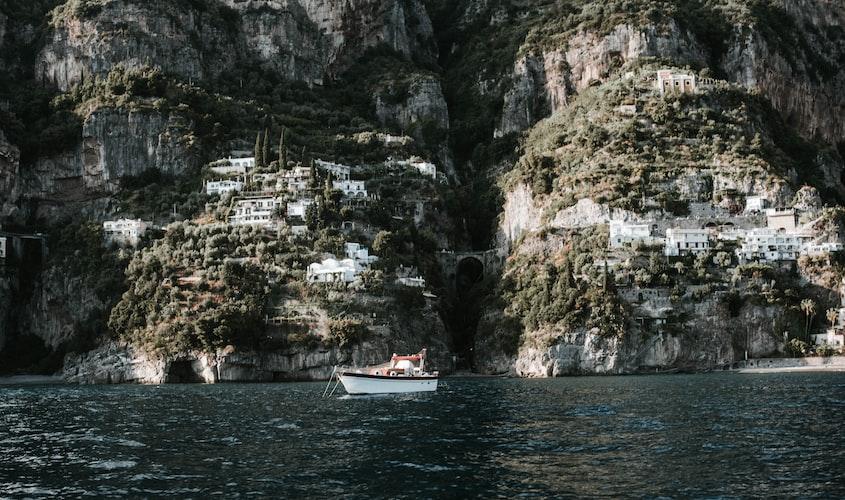 Boat ride in Praiano