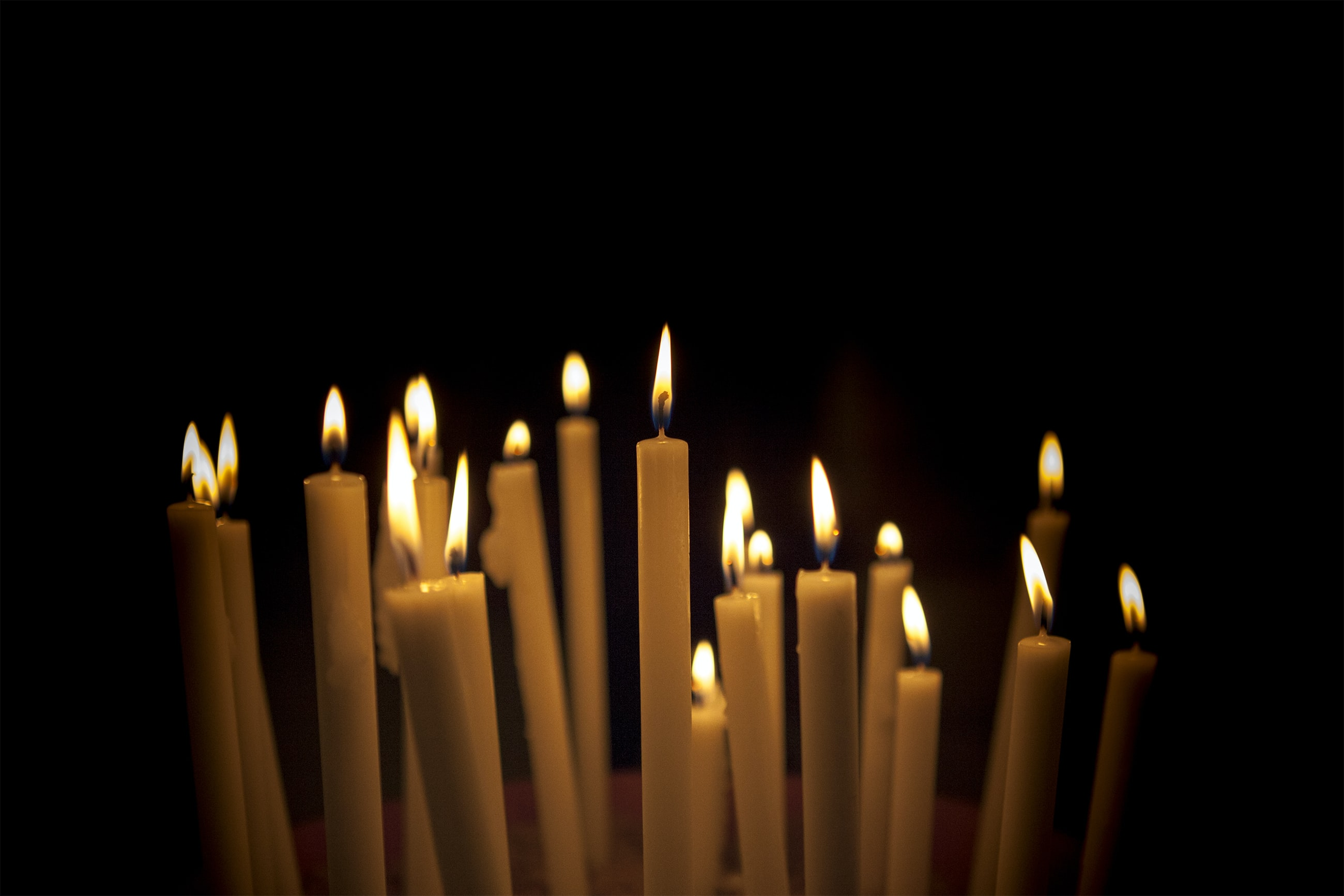 Candles. stories