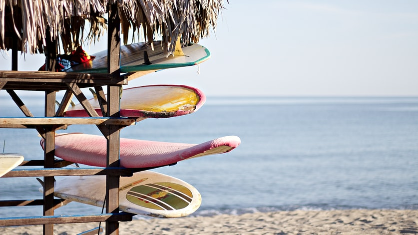 Серфинг — увлечение, требующее хорошей физической подготовки