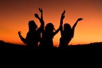 """""""Orange sunset celebration"""""""
