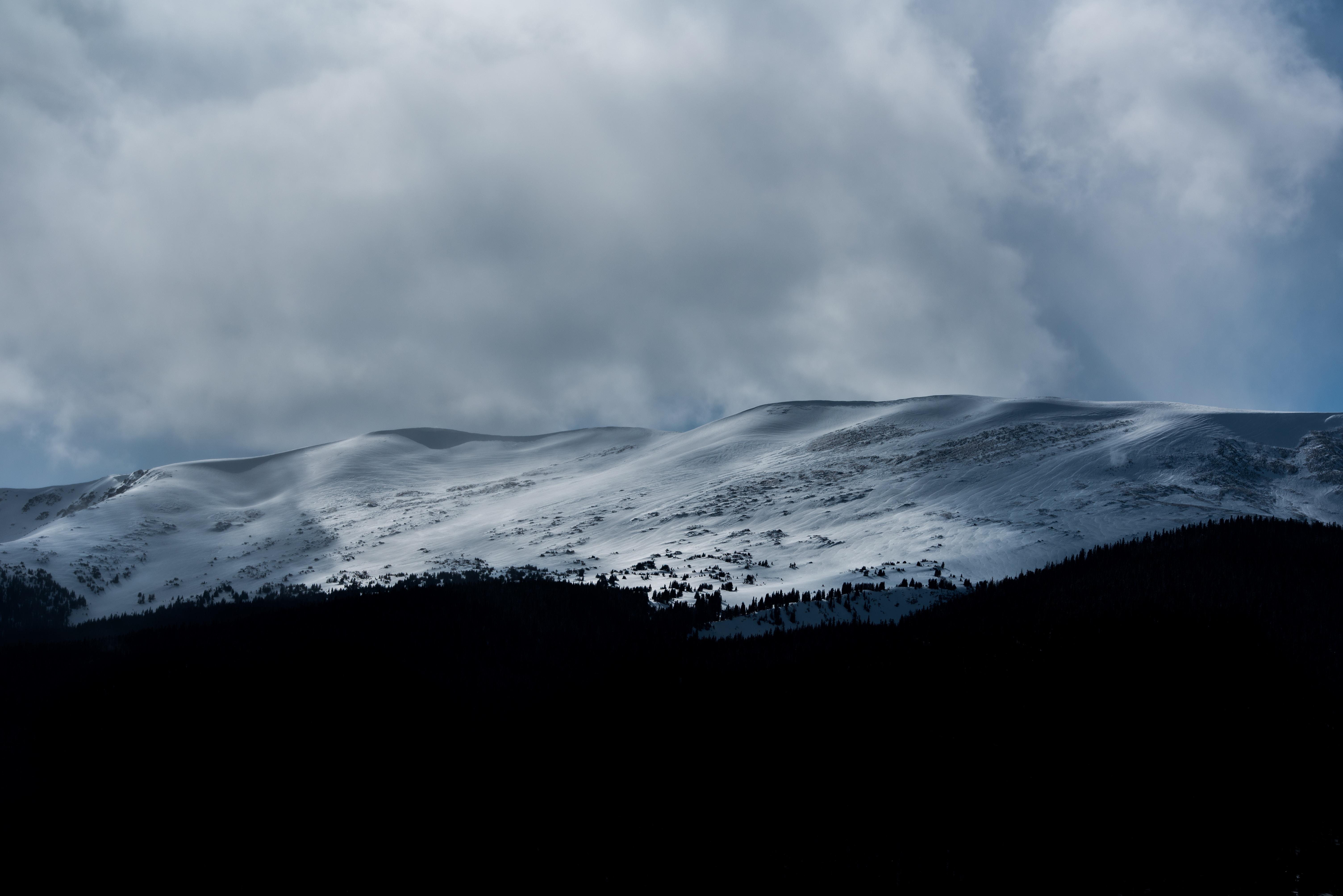 photo of snowy mountain alps
