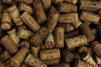 assorted printed cork stoppers