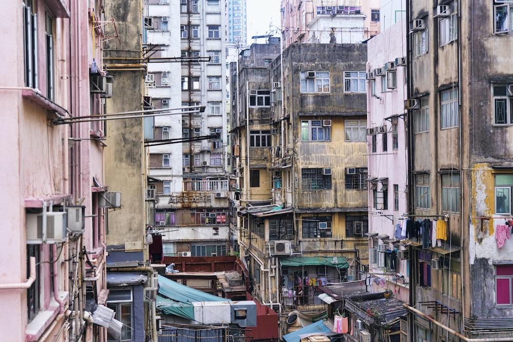 condominium unit buildings during daytime