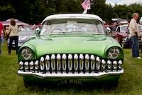 photo of green car