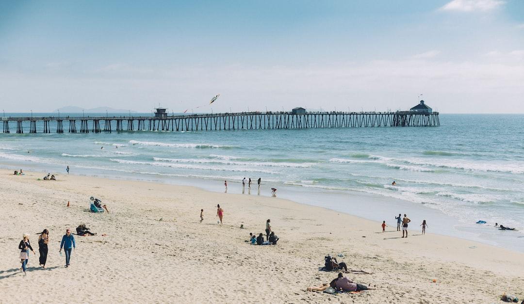 Beach by the pier