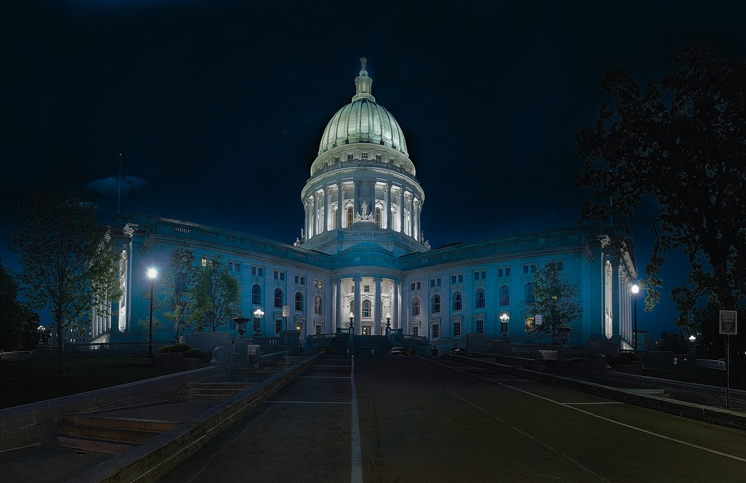 This is a 44 image HDR panoramic image of the Capitol building. 