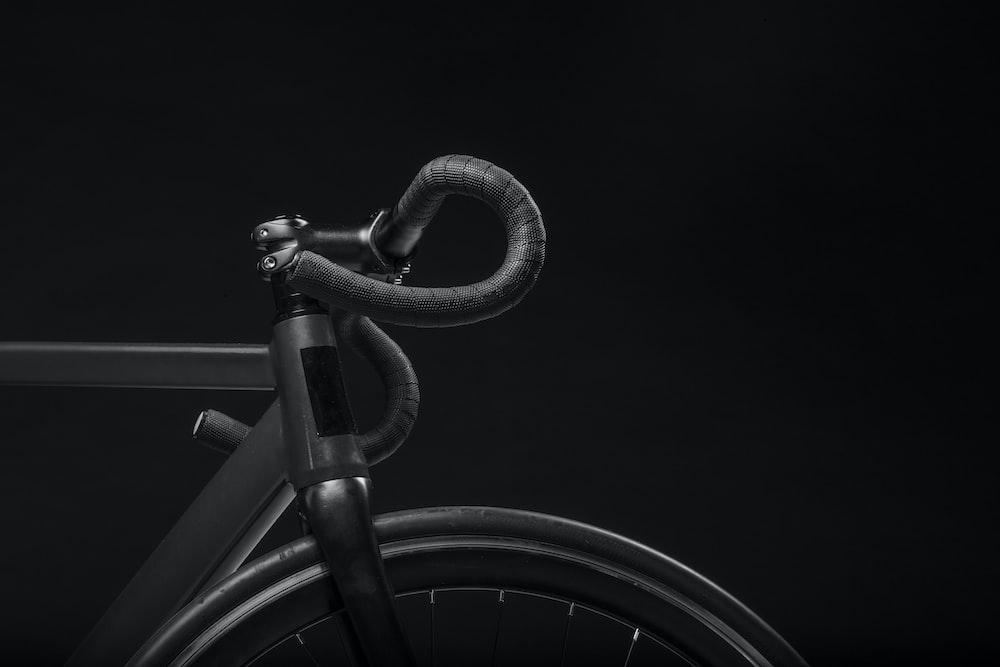 Black Road Bicycle Handle With Black Background Photo Free Black Image On Unsplash