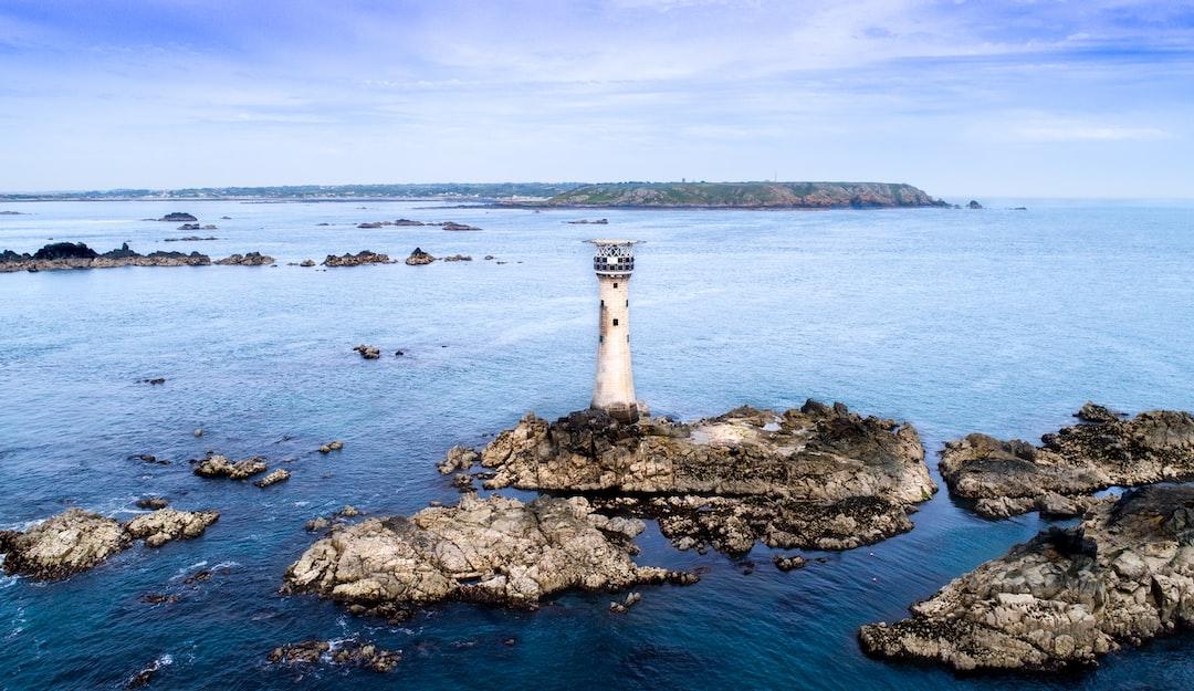 Hanois Lighthouse on a clam day