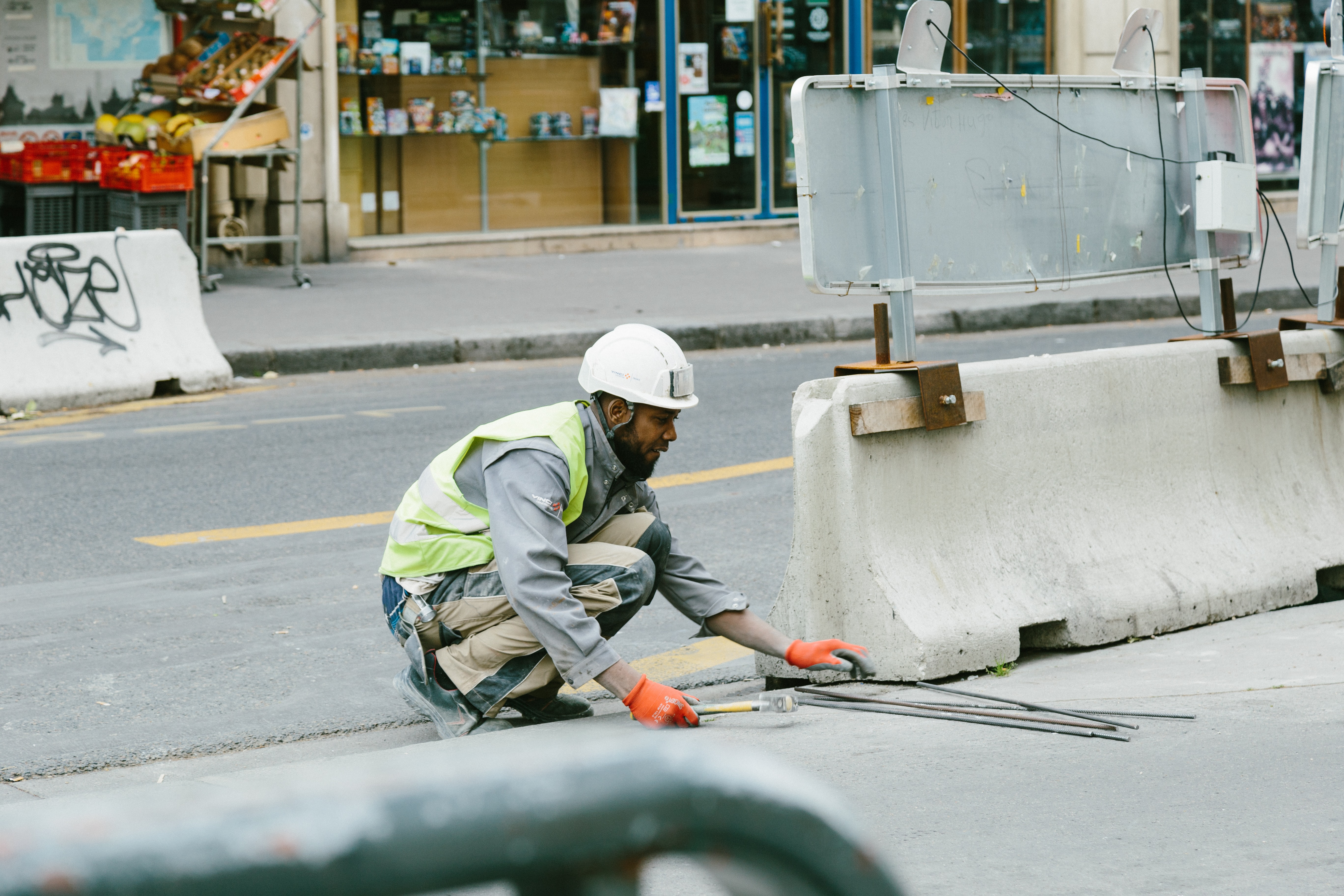 A city worker.