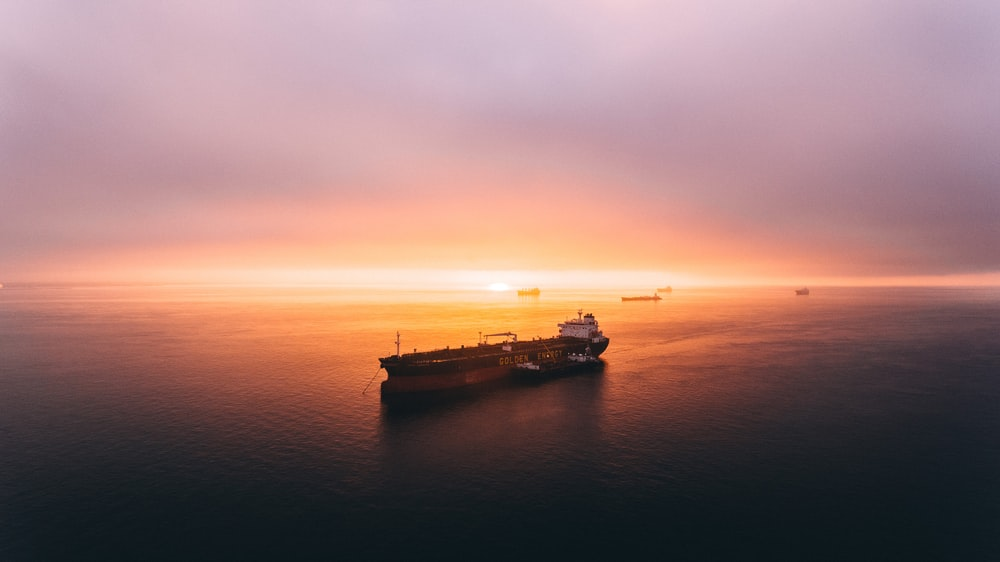 ship cruising on body of water