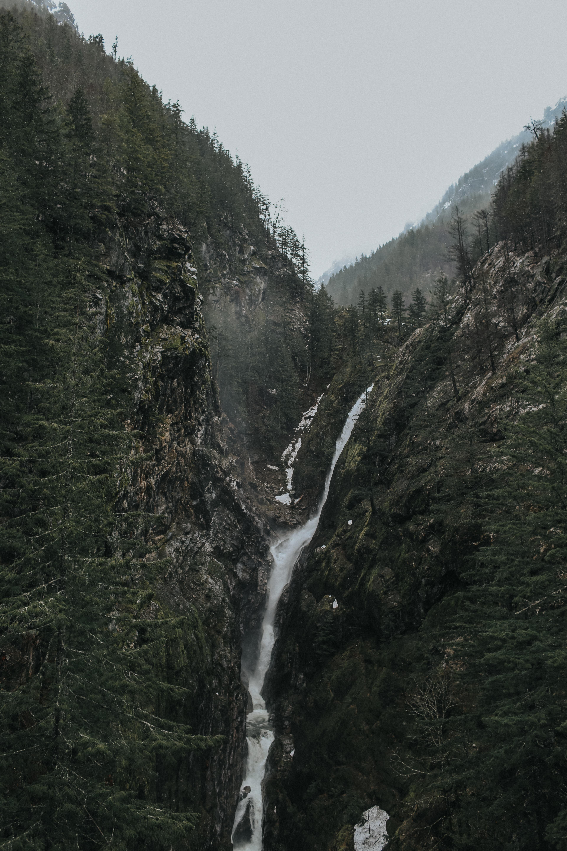 overlooking of waterfalls