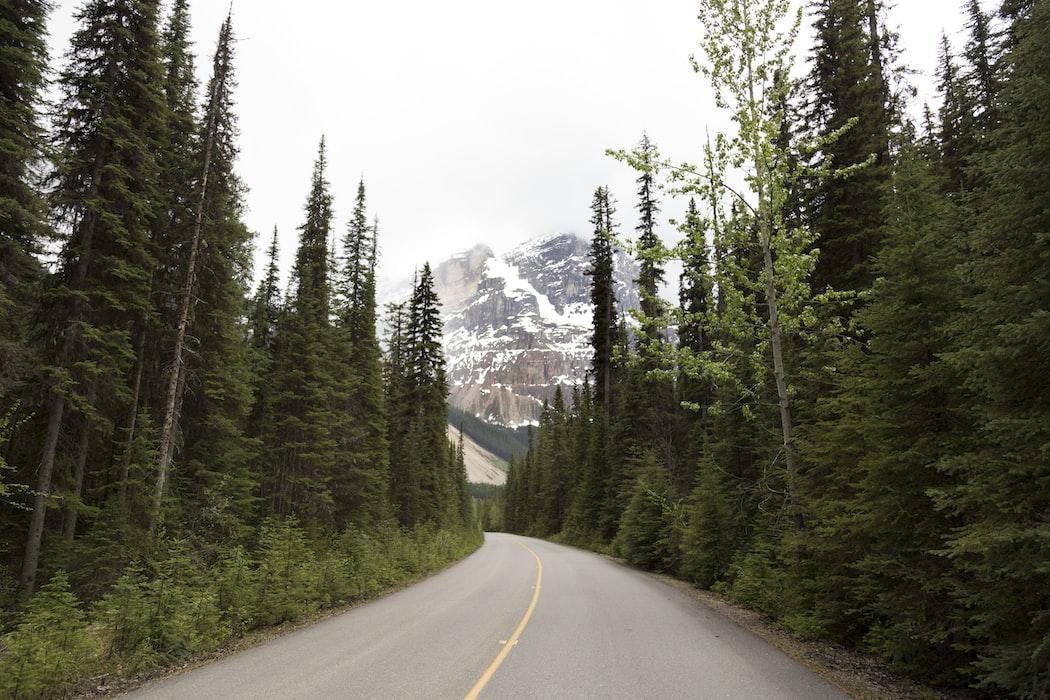 road trip in Canada