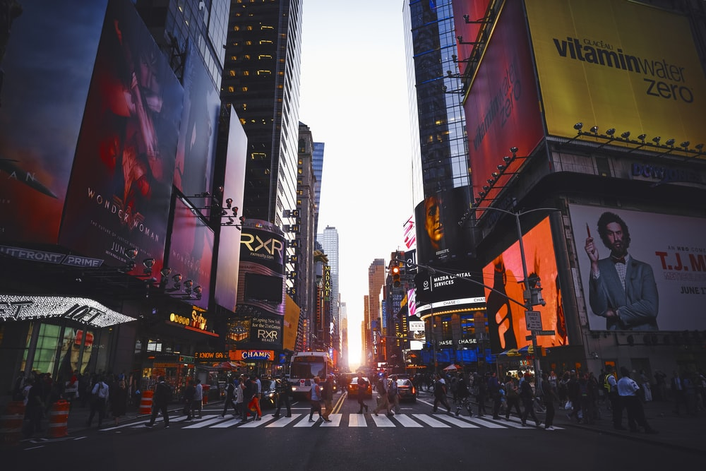 Time Square, New York during daytime