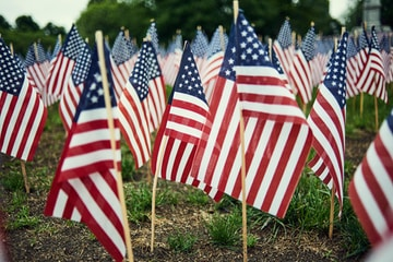 Featured Image of American Flags for Cyber Grapes Services LLC