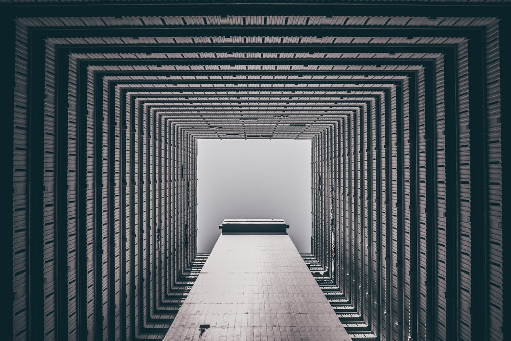 worm's eye-view of high-raise building