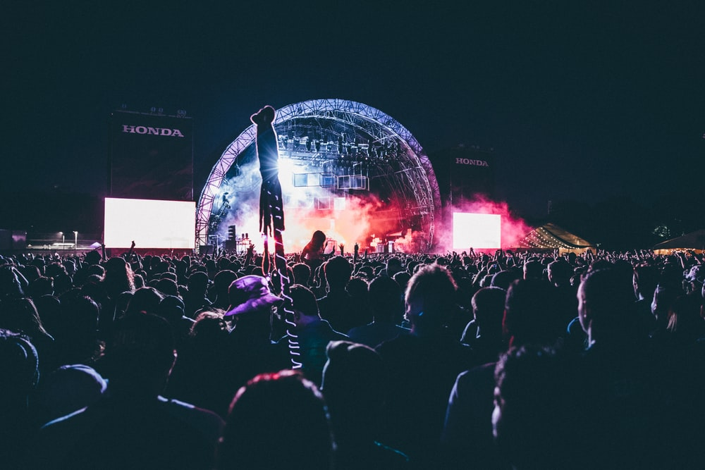 photo of crowd of people in a concert