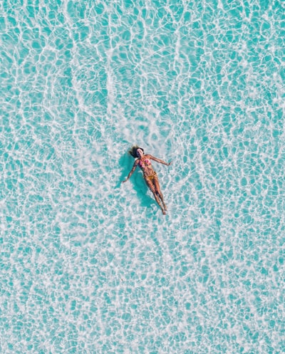 One fine day in Maldives. Flew my drone just above ger to get this view. You can find more on my Instagram. @seefromthsky