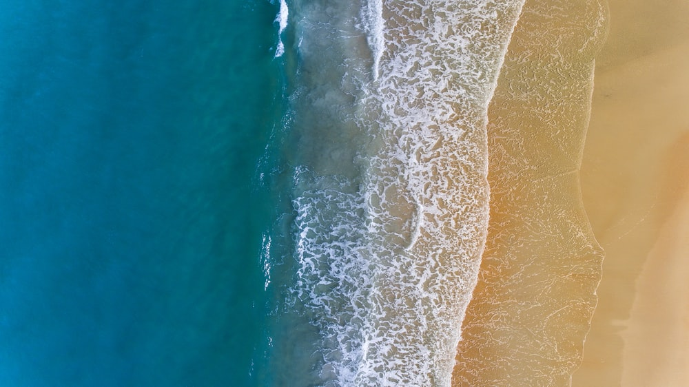 aerial photography of seashore during adytime
