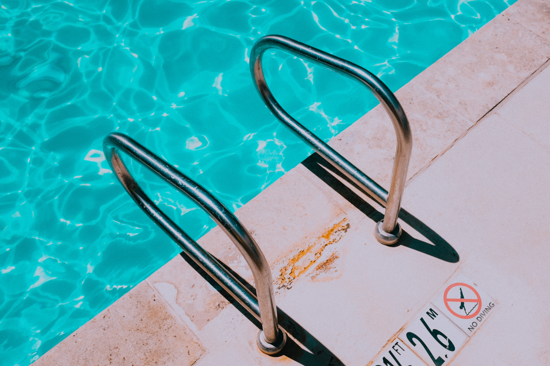 stainless steel pool handle