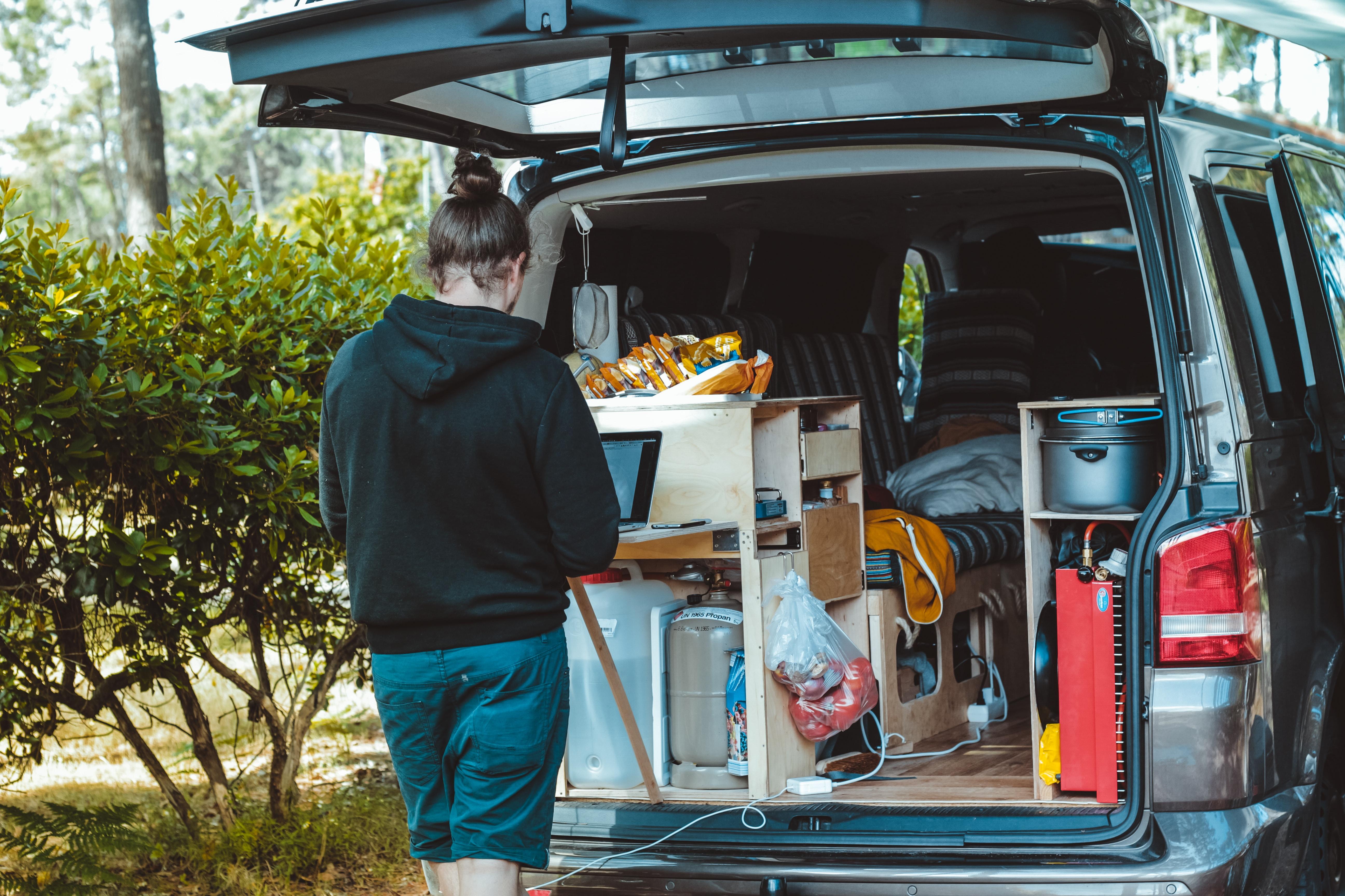 campervan basic items