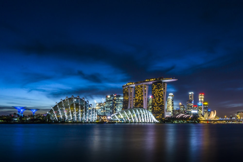 San Marina Bay, Singapore
