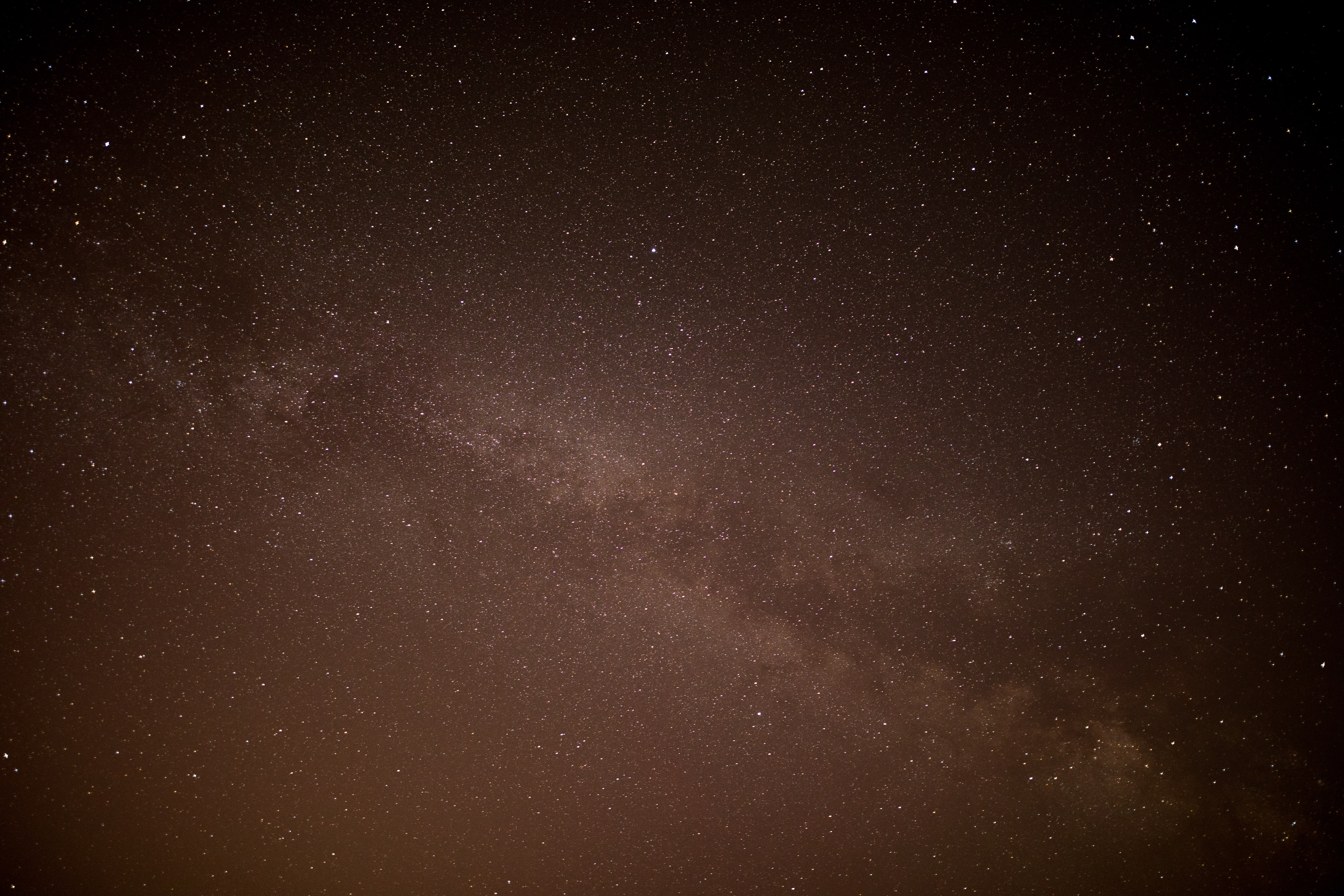Star studded night sky as seen from Wicklow Mountains National Park