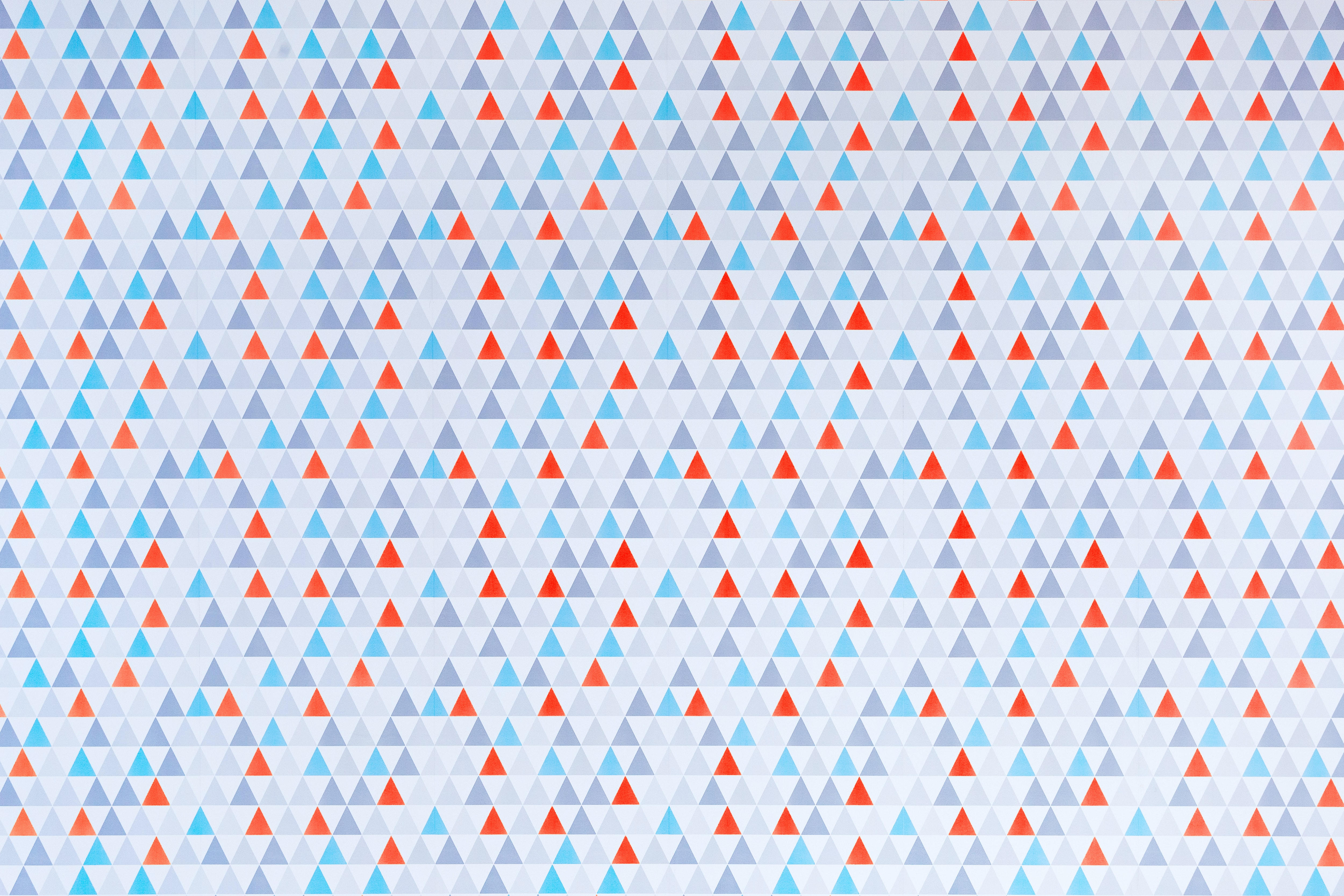 A triangle texture pattern.