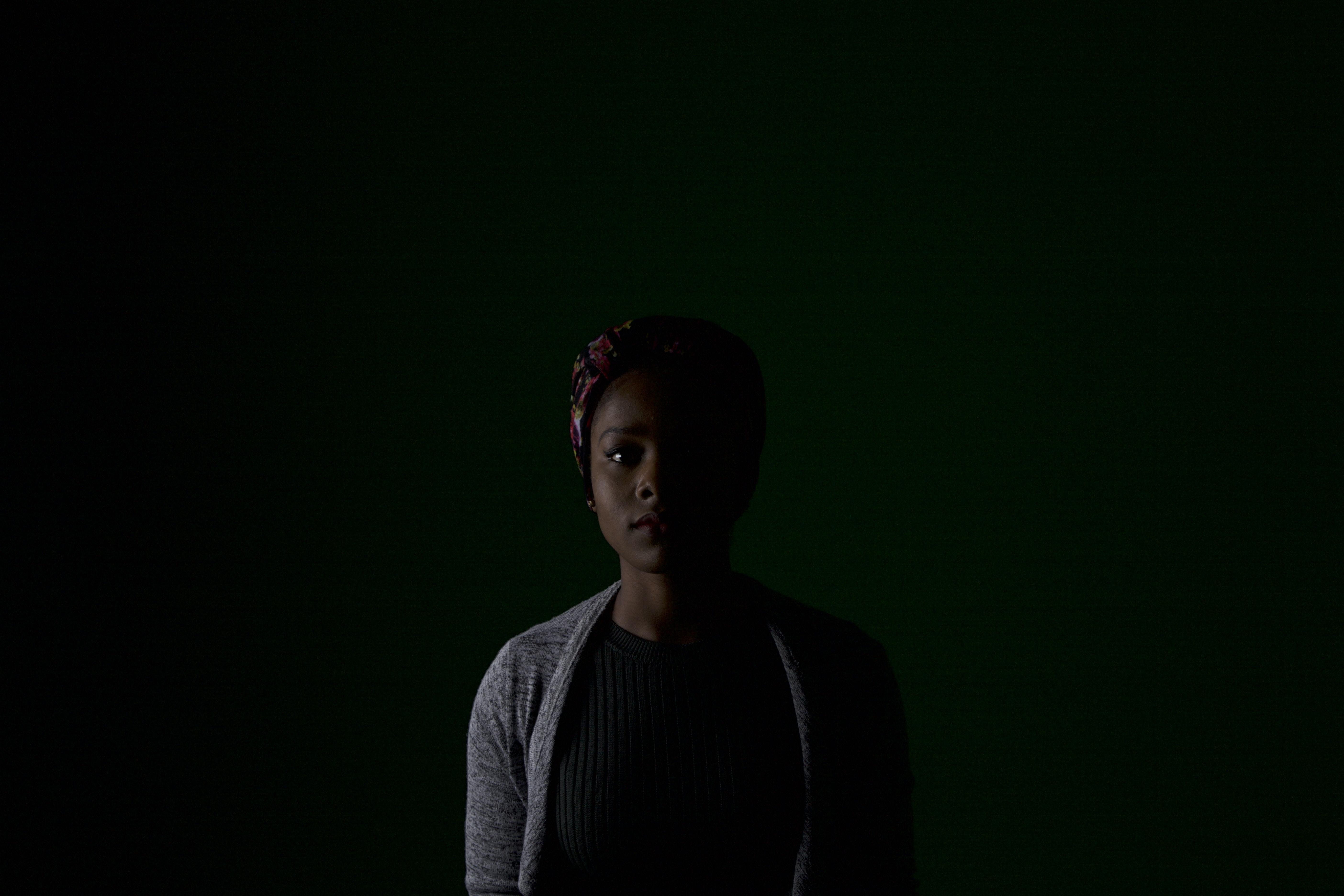 woman indoor photography