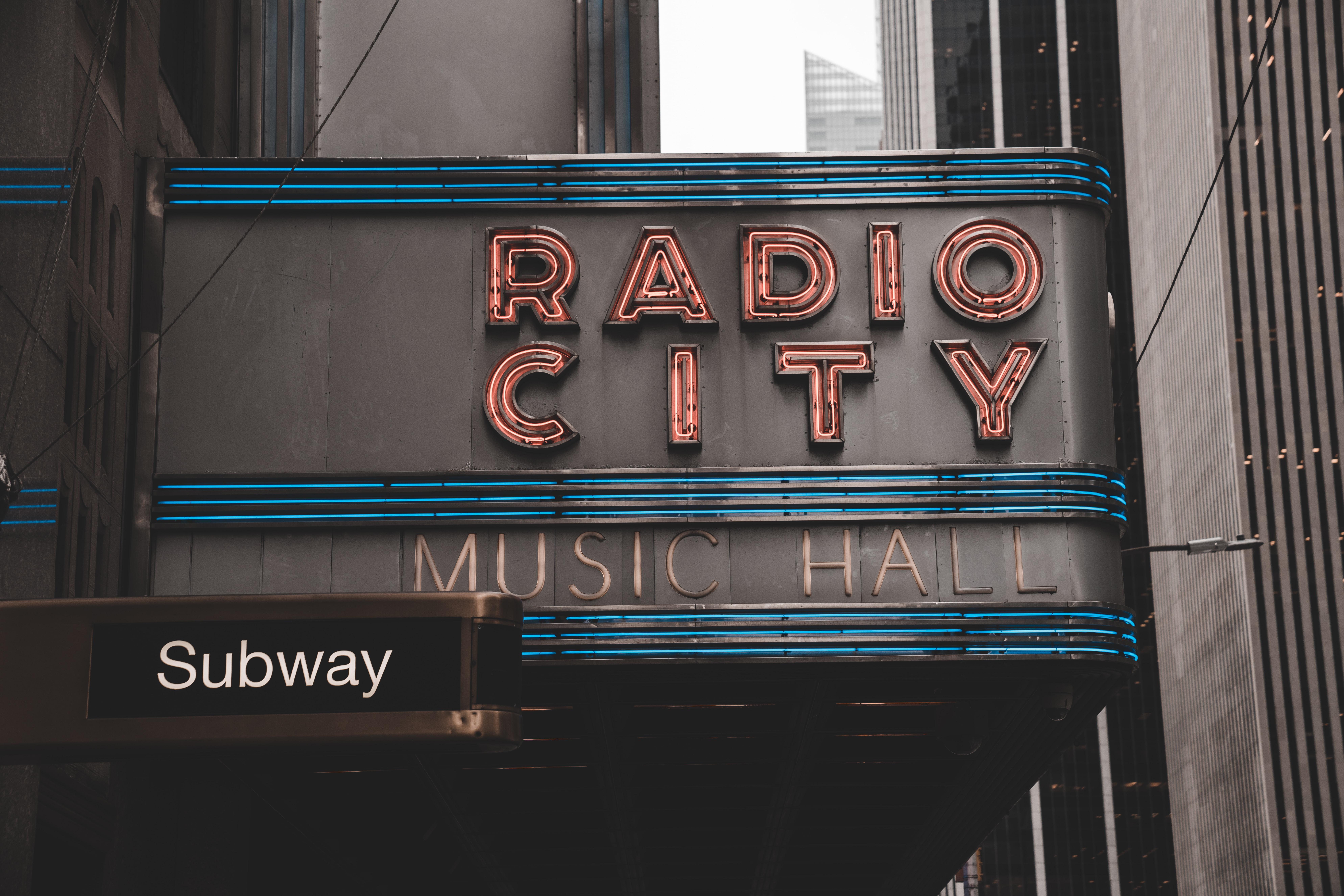 Radio City Music Hall Subway