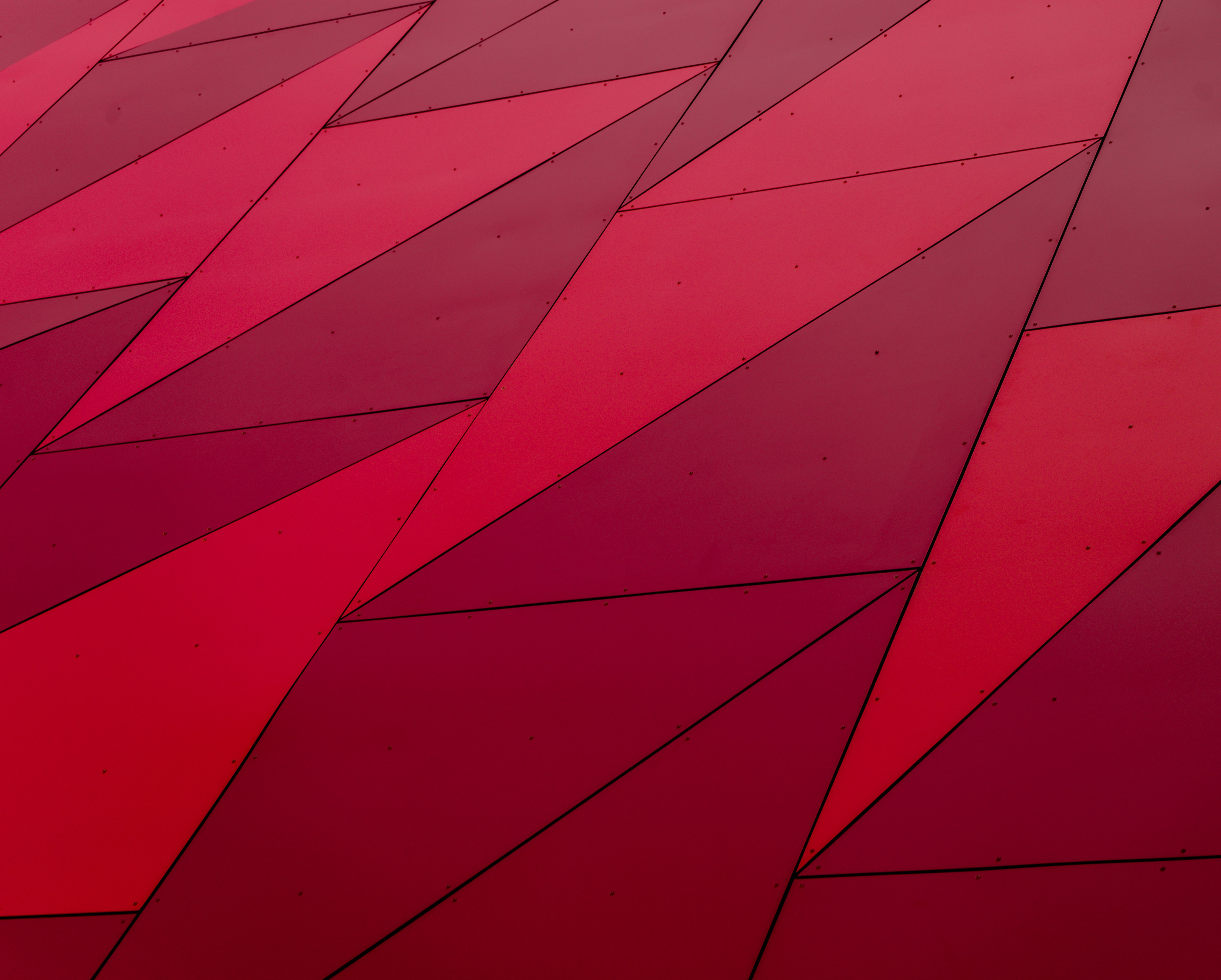 A red triangle texture pattern.