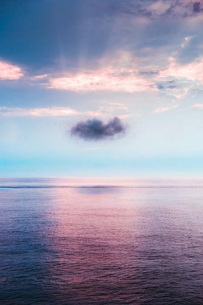 On a Melancholy Cloud