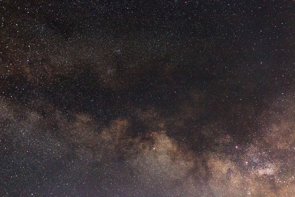 low-angle of milky way