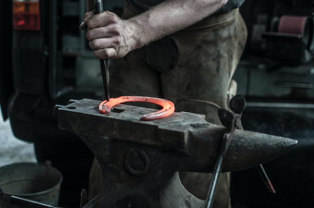 There's can't be any skills that have been around for so long and barely changed in hundreds of years. Watching our farrier shoe our horses was fascinating  watch. A true craftsman at work.