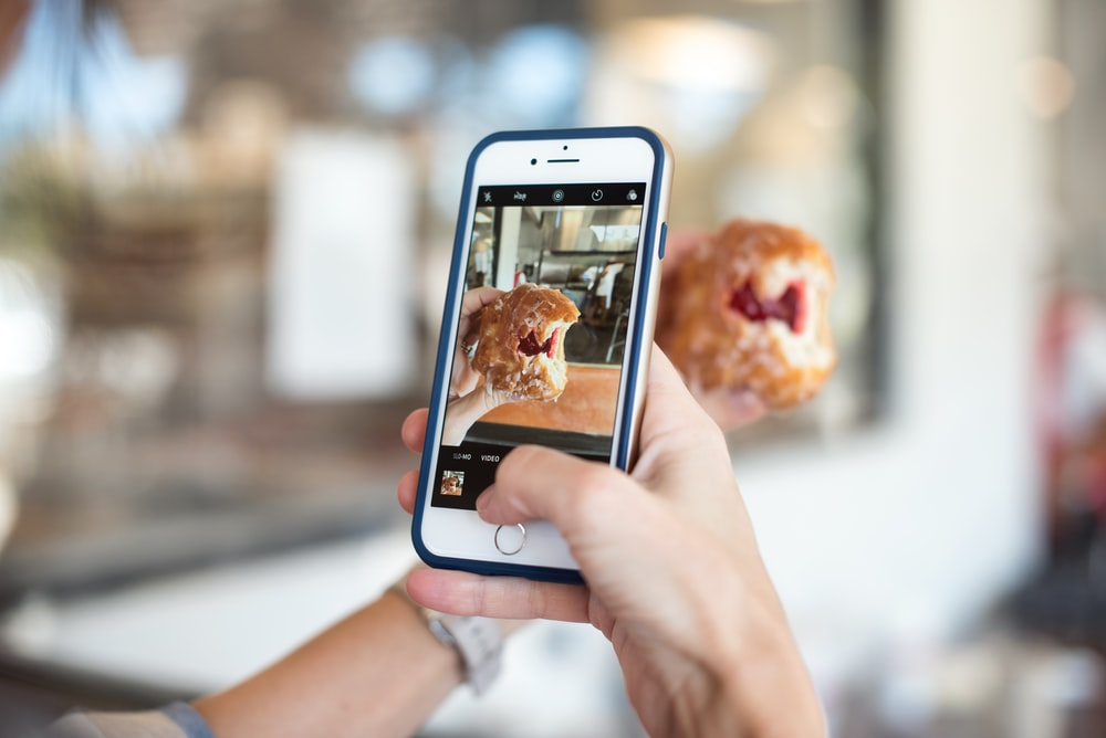 photographing a donut photo by callie morgan calliestorystreet on