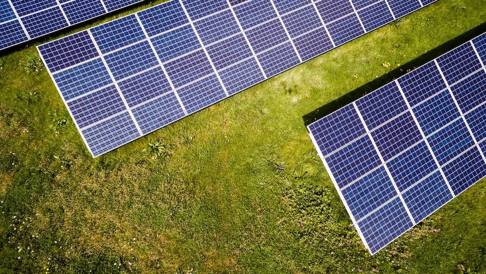 photo of three solar panels