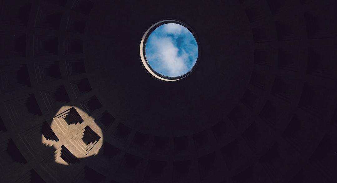 Sky in a dome oculus