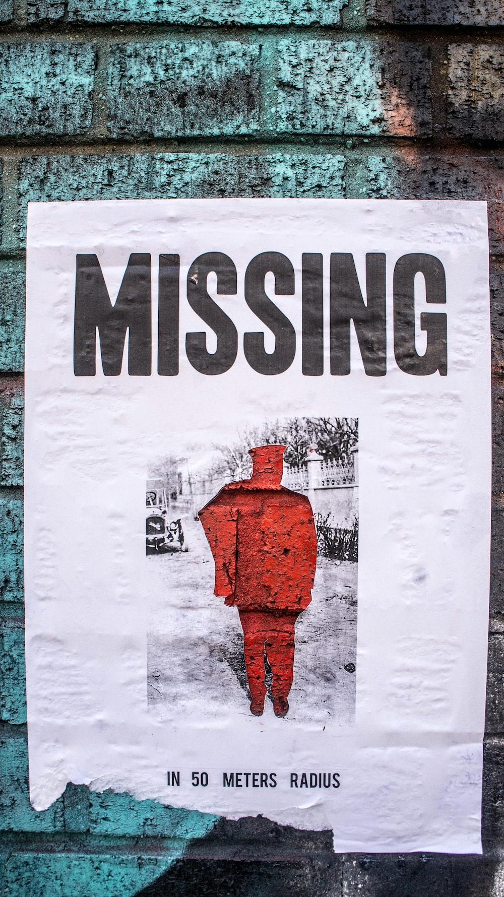 missing signage
