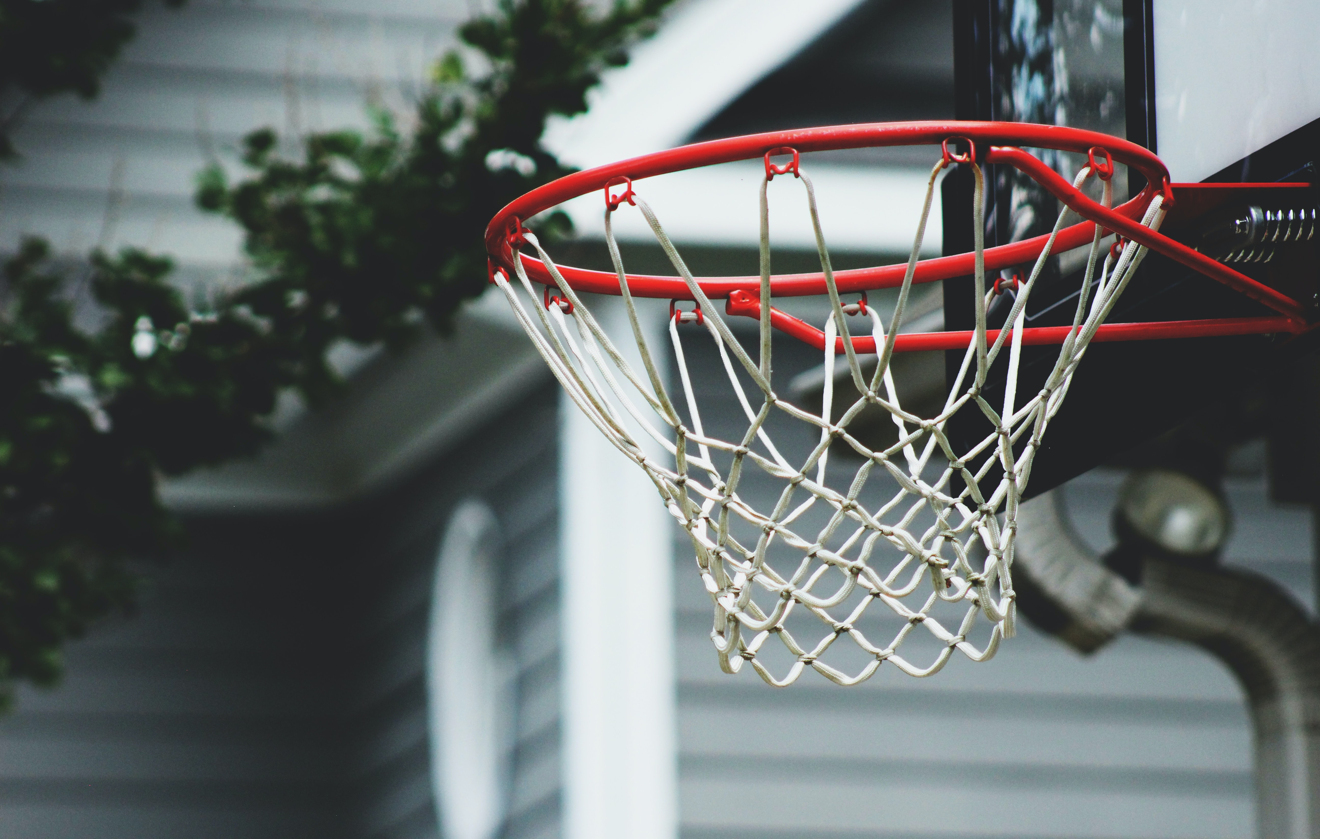 selective focus photography hoop