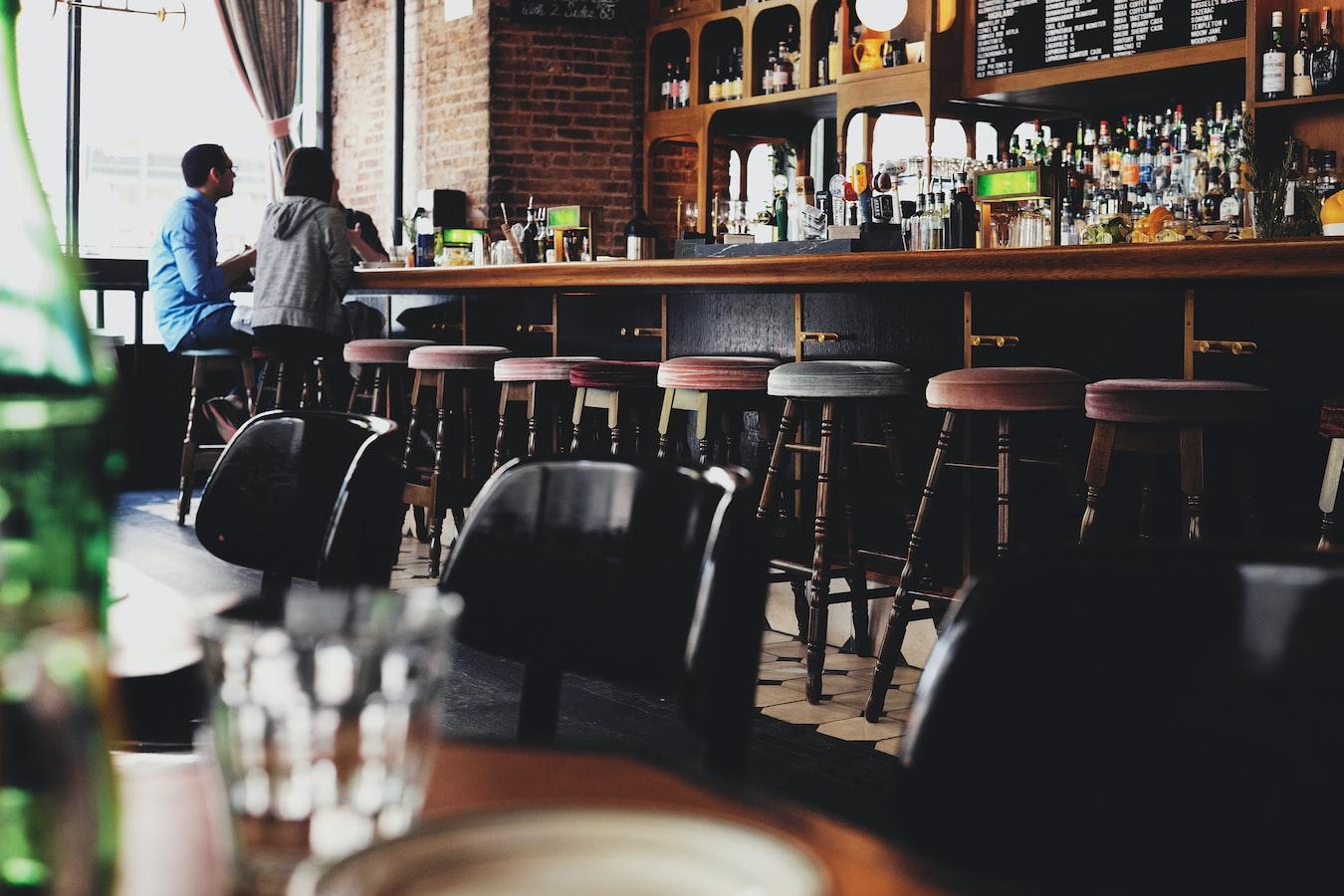 A quiet pub