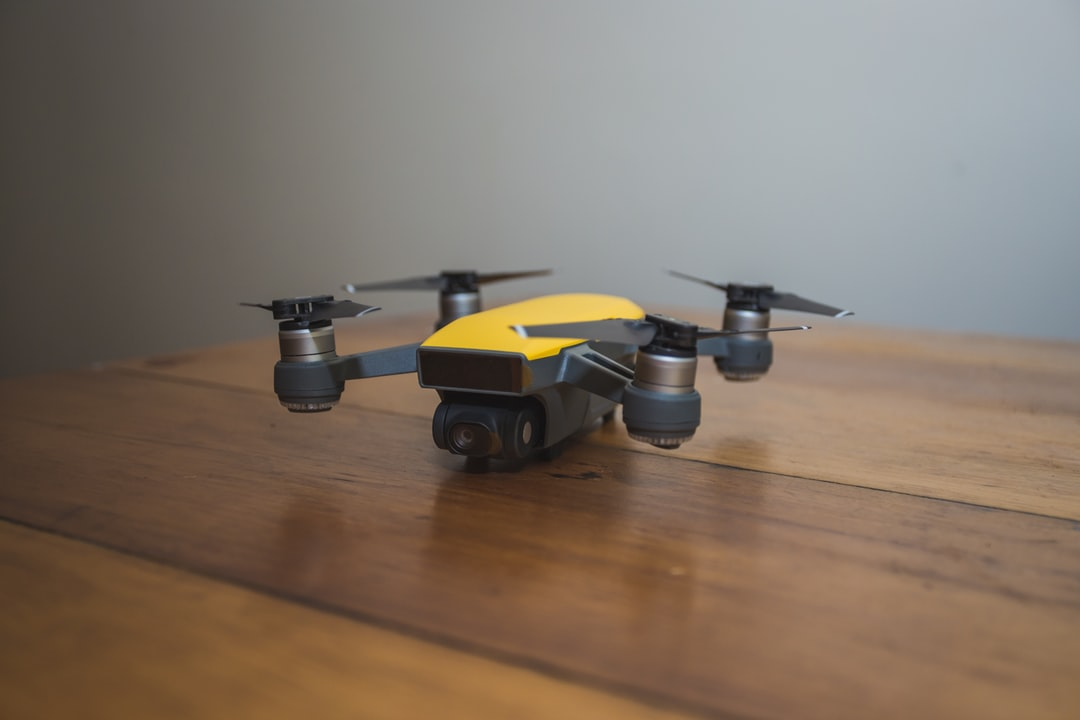 Just received my DJI Spark - before even turning it on, i shot a couple of pics for Unsplash.