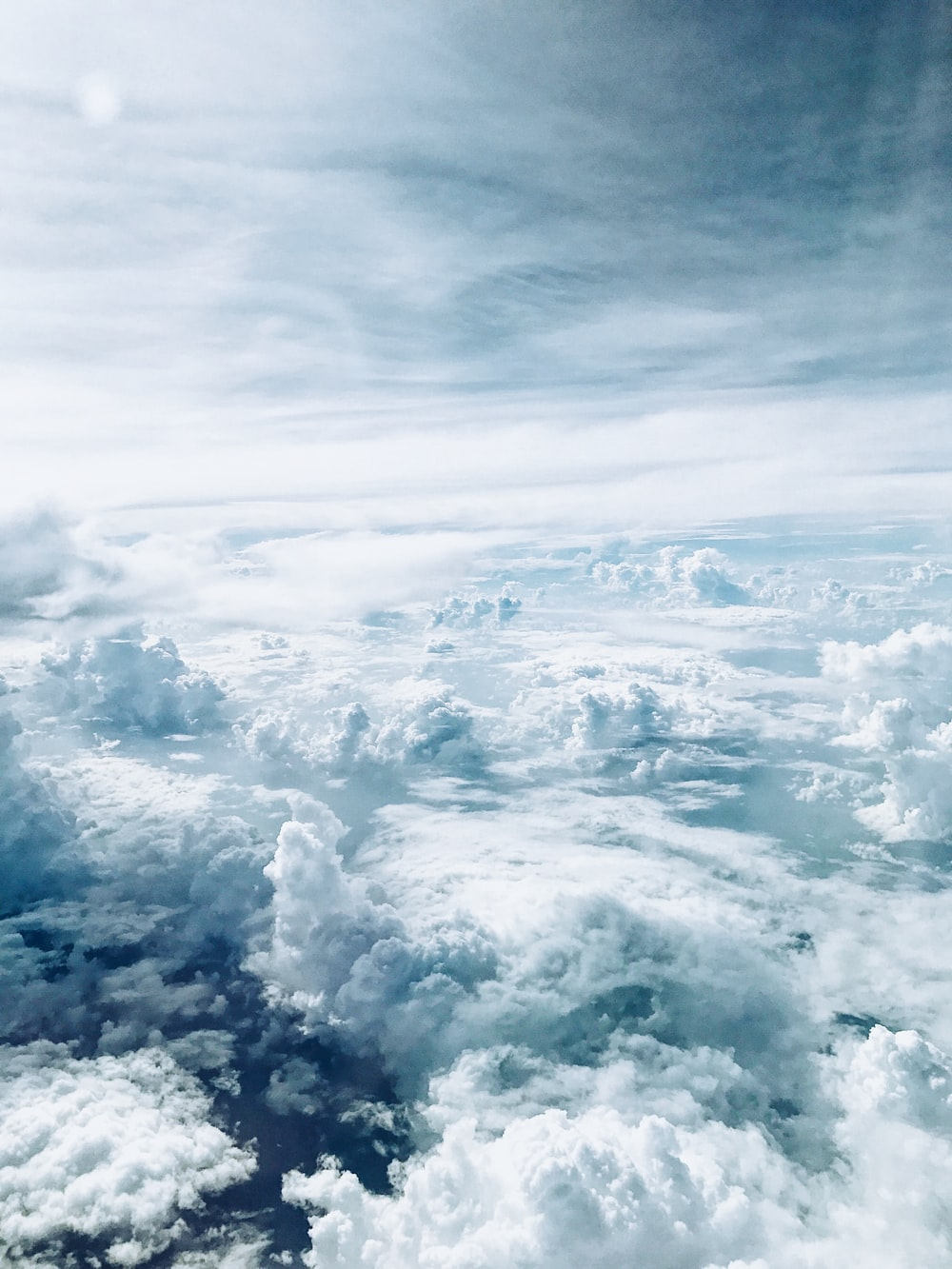 sea of clouds during daytime