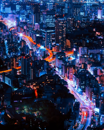 Tokyo Infinity  For a full resolution photo, contact me directly.