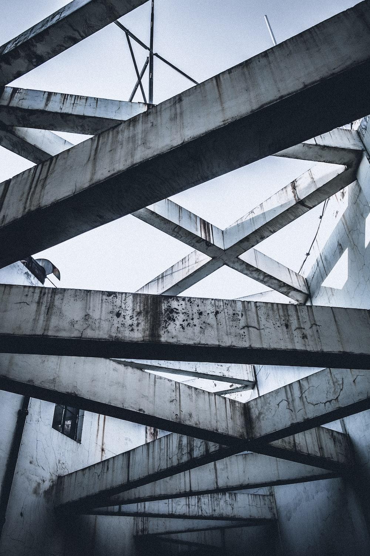white concrete structure