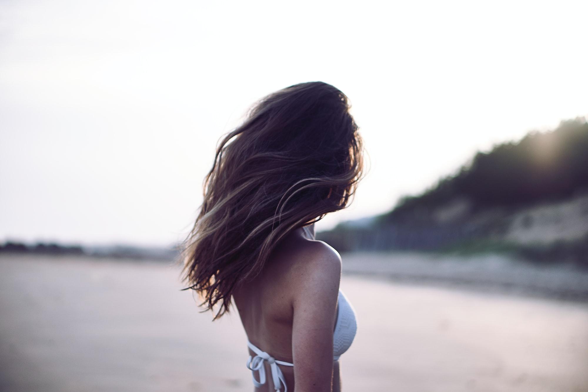 Фотосессия: акцент на волосах