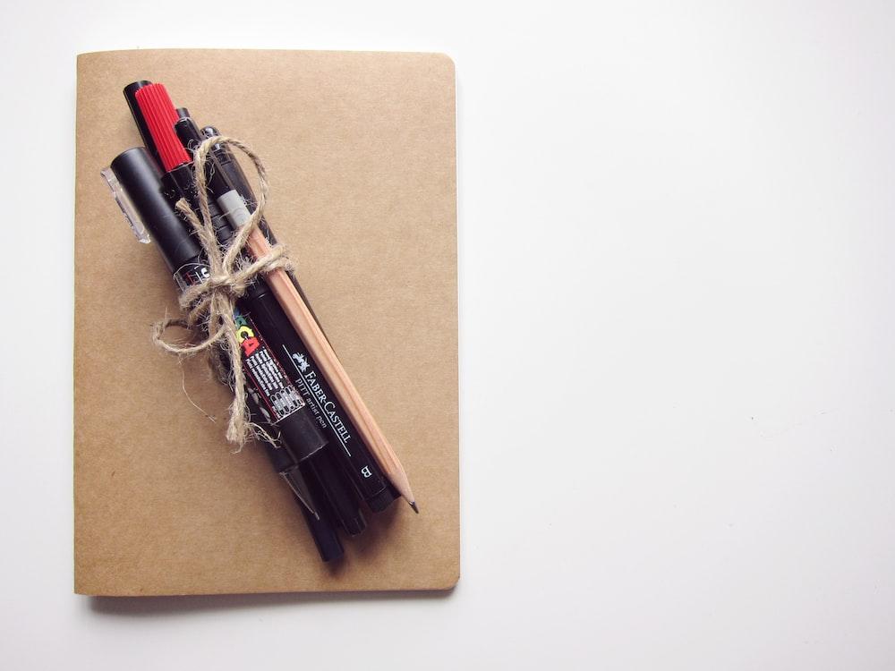 brown pencil