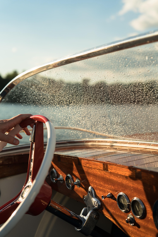 water moisture on convertible car windshield